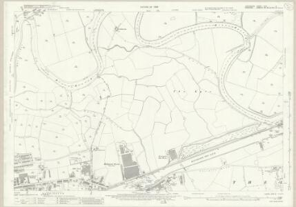 Lancashire CXVI.2 (includes: Grappenhall; Poulton With Fearnhead; Warrington; Woolston) - 25 Inch Map