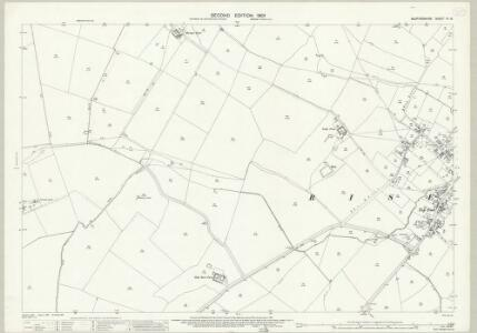 Bedfordshire IV.15 (includes: Knotting and Souldrop; Melchbourne and Yelden; Riseley) - 25 Inch Map