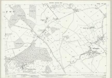 Somerset XXIX.4 (includes: Hemington; Kilmersdon) - 25 Inch Map