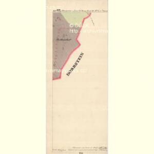 Glashütten - c6929-1-008 - Kaiserpflichtexemplar der Landkarten des stabilen Katasters