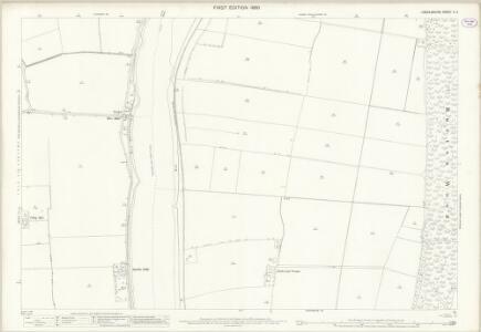 Lincolnshire X.6 (includes: Amcotts; Burton upon Stather; Flixborough; Garthorpe) - 25 Inch Map