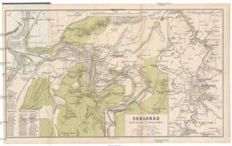 Carlsbad und seine Promenaden