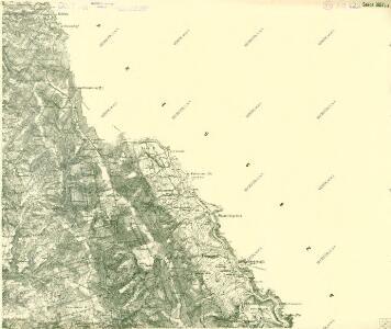 III. vojenské mapování 3857/1-3