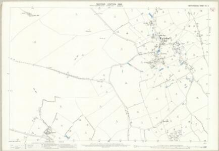 Hertfordshire VIII.3 (includes: Kelshall; Sandon; Therfield) - 25 Inch Map