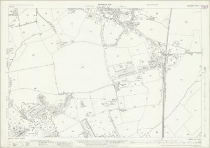 Berkshire X.3 (includes: Abingdon; Radley) - 25 Inch Map