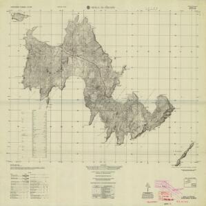 Isola Di Piscopi, Dodecanese Islands 1:25,000 (1953)