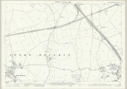 Northamptonshire LVII.1 (includes: Ashton; Roade; Stoke Bruerne) - 25 Inch Map