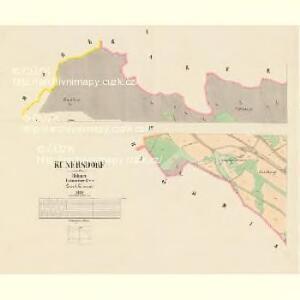 Kunersdorf - c3714-1-001 - Kaiserpflichtexemplar der Landkarten des stabilen Katasters