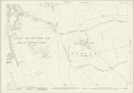 Nottinghamshire XLII.11 (includes: Gamston; Holme Pierrepont; West Bridgford) - 25 Inch Map