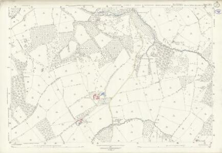 Herefordshire XIII.3 (includes: Bockleton; Laysters; Middleton On The Hill; Tenbury) - 25 Inch Map