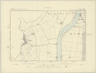 Lincolnshire X.SE - OS Six-Inch Map