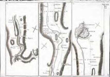 Carte topographique de la grande route de Berne à Zurich et Zurzach, Blatt 10-12