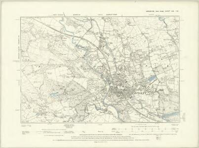 Yorkshire CCI.SW - OS Six-Inch Map