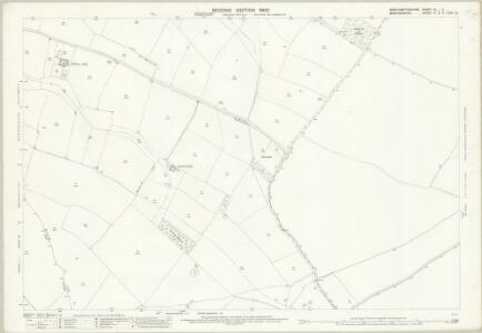 Northamptonshire XL.11 (includes: Chelveston Cum Caldecott; Higham Ferrers; Melchbourne and Yelden; Newton Bromswold; Rushden) - 25 Inch Map