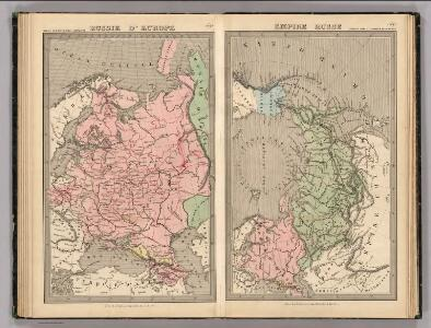Russie D'Europe, Empire Russe.