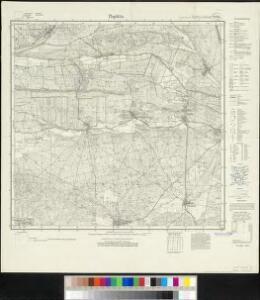 Meßtischblatt 2178 : Paplitz, 1928