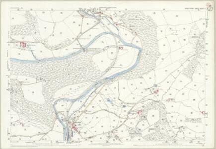 Devon XXXIV.3 (includes: Bampton; Stoodleigh; Tiverton) - 25 Inch Map