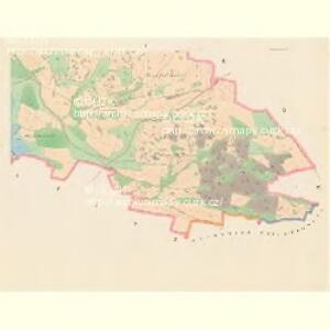 Slatina - c7000-1-004 - Kaiserpflichtexemplar der Landkarten des stabilen Katasters