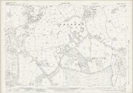 Cheshire XII.12 (includes: Caldy; Frankby; Grange; Hoylake cum West Kirby; Thurstaston) - 25 Inch Map