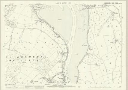 Cardiganshire XXXVII.4 (includes: Cardigan; St Dogmaels; Verwig) - 25 Inch Map