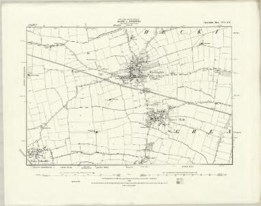 Lincolnshire CVI.NE - OS Six-Inch Map