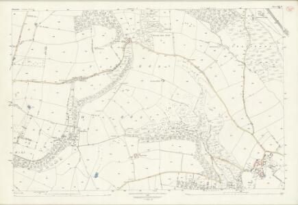Shropshire LXX.12 (includes: Clungunford; Stokesay) - 25 Inch Map