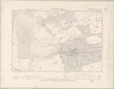 Perth and Clackmannan Sheet CVII.NW - OS 6 Inch map