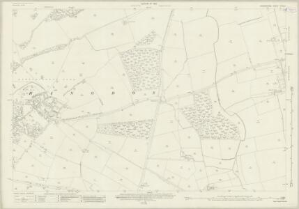 Oxfordshire XXVII.3 (includes: Bletchingdon; Kirtlington; Weston on the Green) - 25 Inch Map
