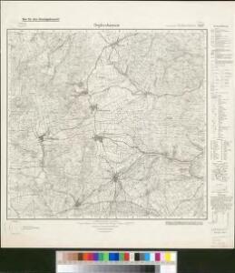 Meßtischblatt 5327 : Oepfershausen, 1936
