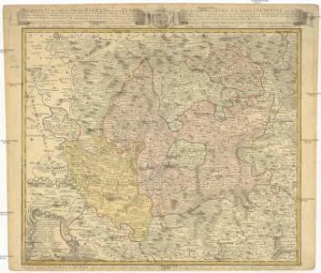 Repraesentatio Geographica Curculi Egerani nec non Elnbogensis in quo simul viae Egeranae in Thermas Carolinas distincta delineato conscriptur