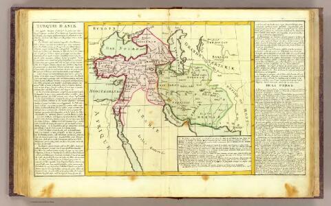 Turquie d'Asie, la Perse.