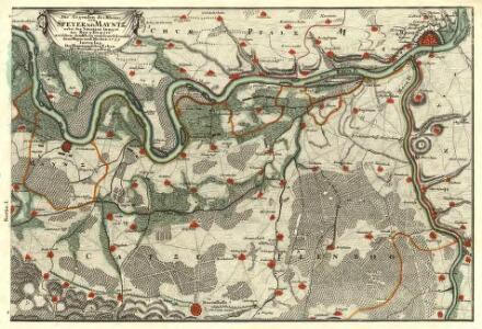 Die Gegenden des Rheins von Speyer biss Mayntz :