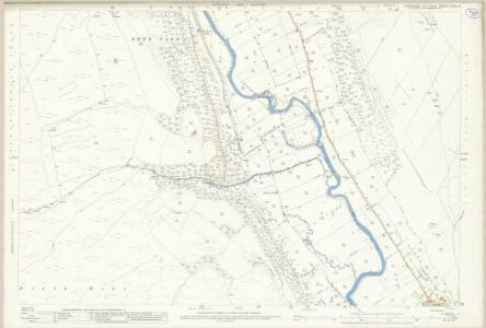 Yorkshire XCVIII.11 (includes: Buckden; Kettlewell With Starbotton) - 25 Inch Map