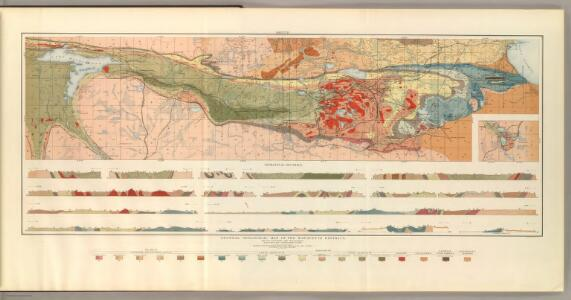 General Geological Map of the Marquette District.