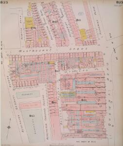 Insurance Plan of London West, North West Vol. B: sheet 23