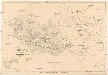 Detail-Karte über die Düppler Werke