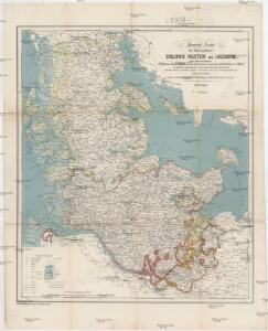 General Karte der Herzogthümer Schleswig Holstein und Lauenburg