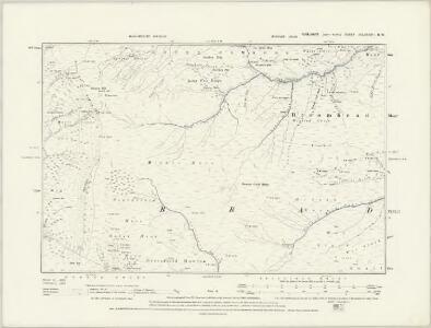 Yorkshire CCLXXXVII.SW - OS Six-Inch Map