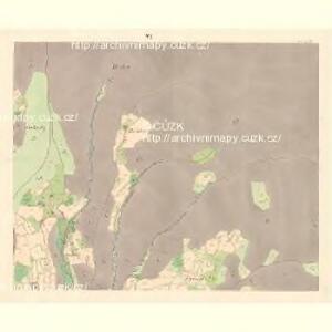 Zubrzy (Zubřzy) - m3614-1-006 - Kaiserpflichtexemplar der Landkarten des stabilen Katasters