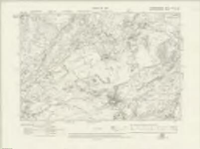 Caernarvonshire XXVIII.SE - OS Six-Inch Map