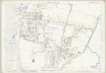 Essex (1st Ed/Rev 1862-96) LXV.11 (includes: Wanstead; Woodford) - 25 Inch Map