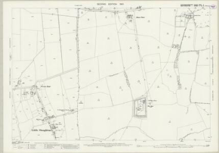 Huntingdonshire XXIV.4 (includes: Great Staughton; Little Staughton) - 25 Inch Map