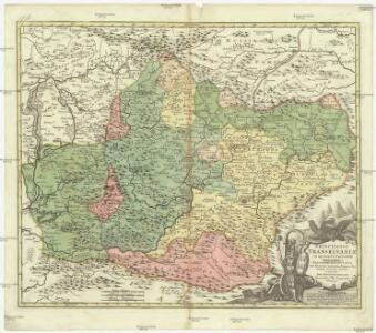 Principatus Transilvaniae in quinque nationes earumque regiones et comitatus cum finitimis vicinorum statuum provinciis accurate divisus