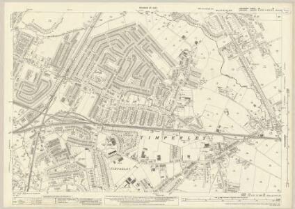 Lancashire CX.16 (includes: Altrincham; Manchester; Sale) - 25 Inch Map