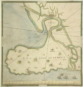 A Chart of the Isle of Thanet and Sandwich Marsh