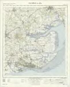 Southend-On-Sea - OS One-Inch Map