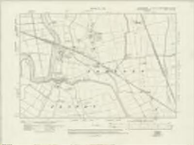 Lincolnshire LX.NW - OS Six-Inch Map