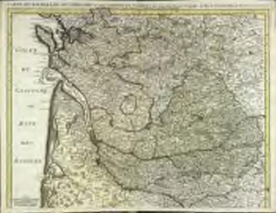 Carte du Bourdelois du Perigord et des provinces voisines