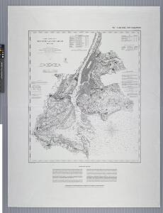 United States--east coast, New York--New Jersey, New York Harbor / Coast Survey.
