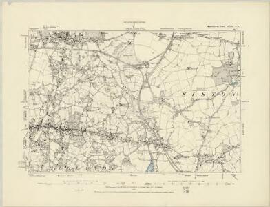 Gloucestershire LXXII.SW - OS Six-Inch Map
